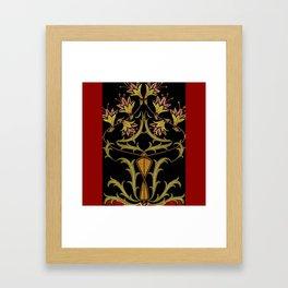 art nouveau Framed Art Print