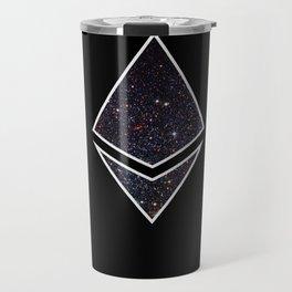 Ethereum Galaxy Logo Travel Mug