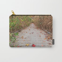 Autumn Marsh Boardwalk Carry-All Pouch