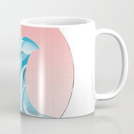 Blue Wave Off The Coast 1 Coffee Mug