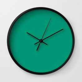 Emerald Green Wall Clock