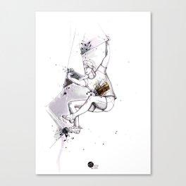 Bas Cu' Girl Canvas Print