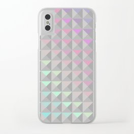 Silver Xs Clear iPhone Case
