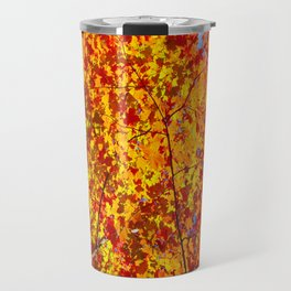 Blazing Fall Canopy Travel Mug