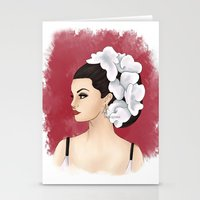 selena Stationery Cards featuring Selena by Quinn
