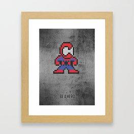 Arachnophobe Framed Art Print