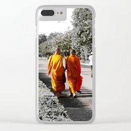 Cambodia Clear iPhone Case