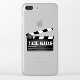 The Kids Clapperboard Clear iPhone Case