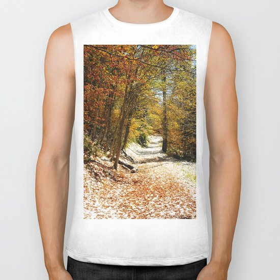 The First Snow Biker Tank