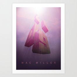 Mac Miller 2009 fanart Art Print
