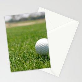 Golf Ball Stationery Cards