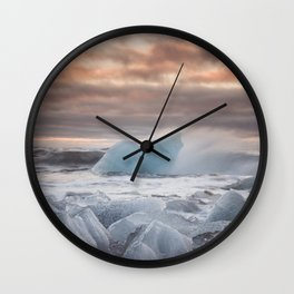 The Ice Cold Heaven - Landscape and Nature Photography Wall Clock