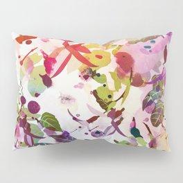 multicolore abstract fuchsia Pillow Sham