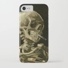 Vincent van Gogh - Skull of a Skeleton with Burning Cigarette Slim Case iPhone 7