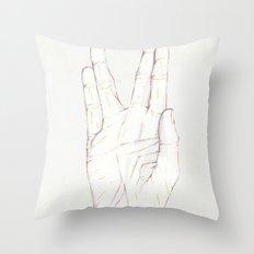 Live Long Throw Pillow