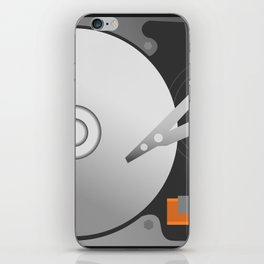 Hard-Drive iPhone Skin