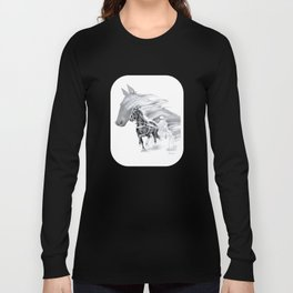 Trotting Up A Storm Long Sleeve T-shirt