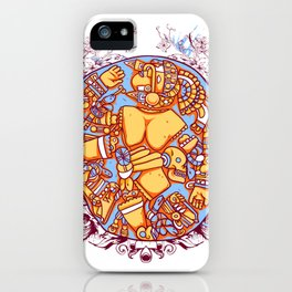Inca design - Mayan Pinup Simbols iPhone Case