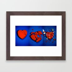 Anything Broken Can Be Fixed Framed Art Print