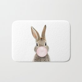 Bubble Gum Bunny Bath Mat