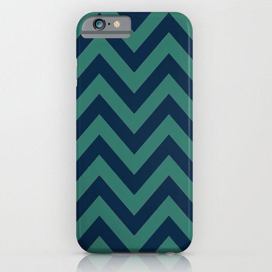 3D in Ocean Tones iPhone & iPod Case