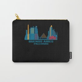 Buenos Aires Palermo Argentina Skyline Carry-All Pouch