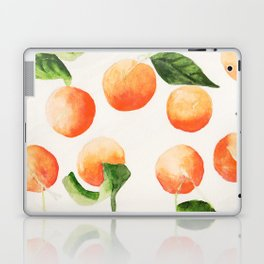 Satsumas Watercolor Painting Laptop & iPad Skin