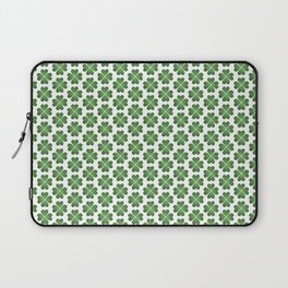 Hearts Clover Pattern Laptop Sleeve