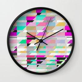 Geometric Deconstruct Wall Clock