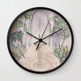 Moroccan Garden Wall Clock
