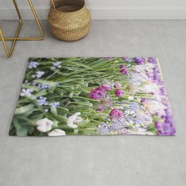 Spring Floral  //  The Botanical Series Rug