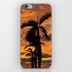 Super Typhoon Sunset iPhone & iPod Skin