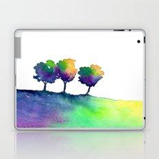 Hue Tree Trio Laptop & iPad Skin