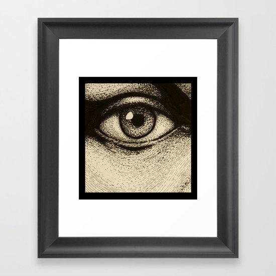 Eye Eye Framed Art Print