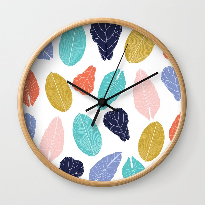 Oh Lovely House Plants Wall Clock
