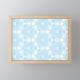 Blue is my color Framed Mini Art Print