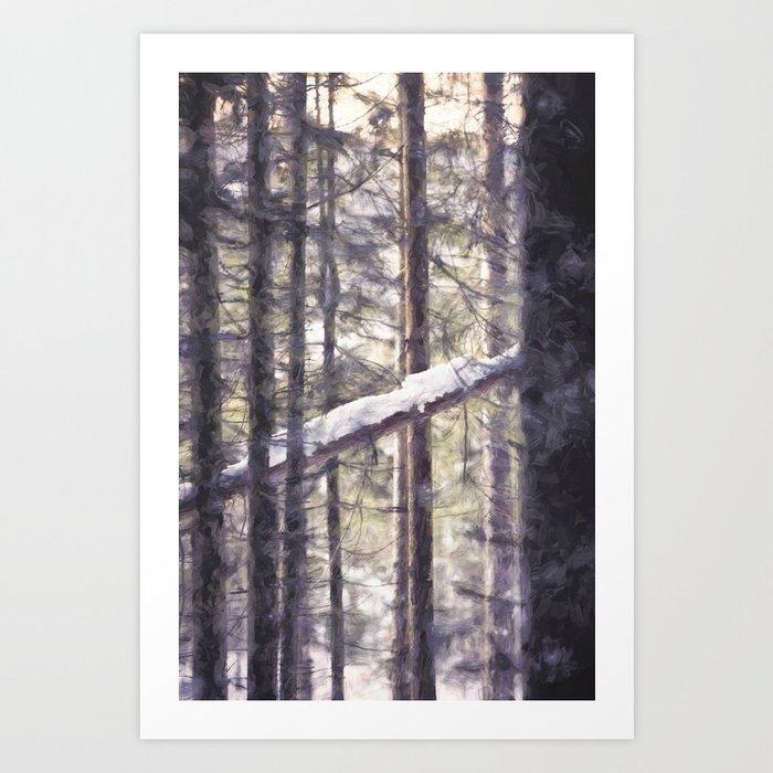 Morning light and Wednesdays apex Art Print