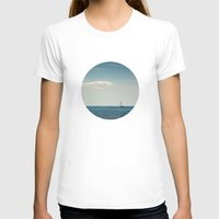 sail T-shirts featuring Sail by Brandy Coleman Ford