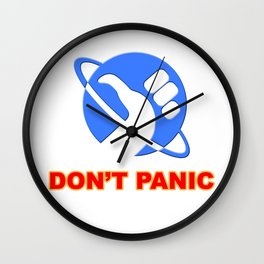 hitchhiker's guide to the galaxy Wall Clock