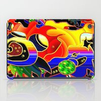 cosmic iPad Cases featuring Cosmic by JT Digital Art