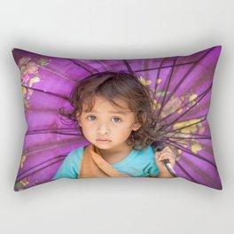 Mangyan Girl Rectangular Pillow