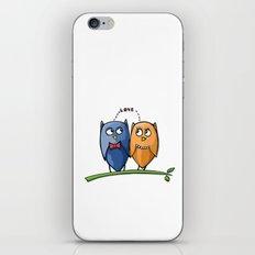 Owl Love iPhone & iPod Skin