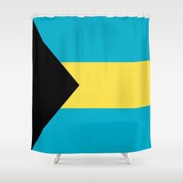 Flag Of The Bahamas Shower Curtain