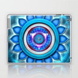 "Vishuddha Chakra - Throat Chakra - Series ""Open Chakra"" Laptop & iPad Skin"