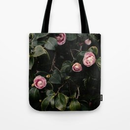 Pink Camellias Tote Bag