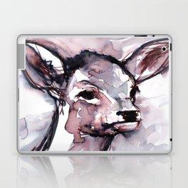 Fawn, Watercolor Laptop & iPad Skin
