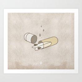 𝑺𝒂𝒏𝒊𝒕𝒚 𝑷𝒊𝒍𝒍 Art Print