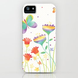 Home in the Summertime iPhone Case
