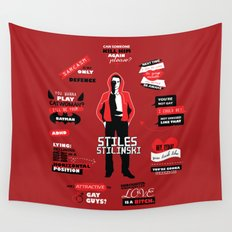 Stiles Stilinski Quotes Teen Wolf Wall Tapestry