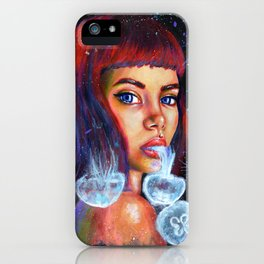 Sketch Jellyfish iPhone Case
